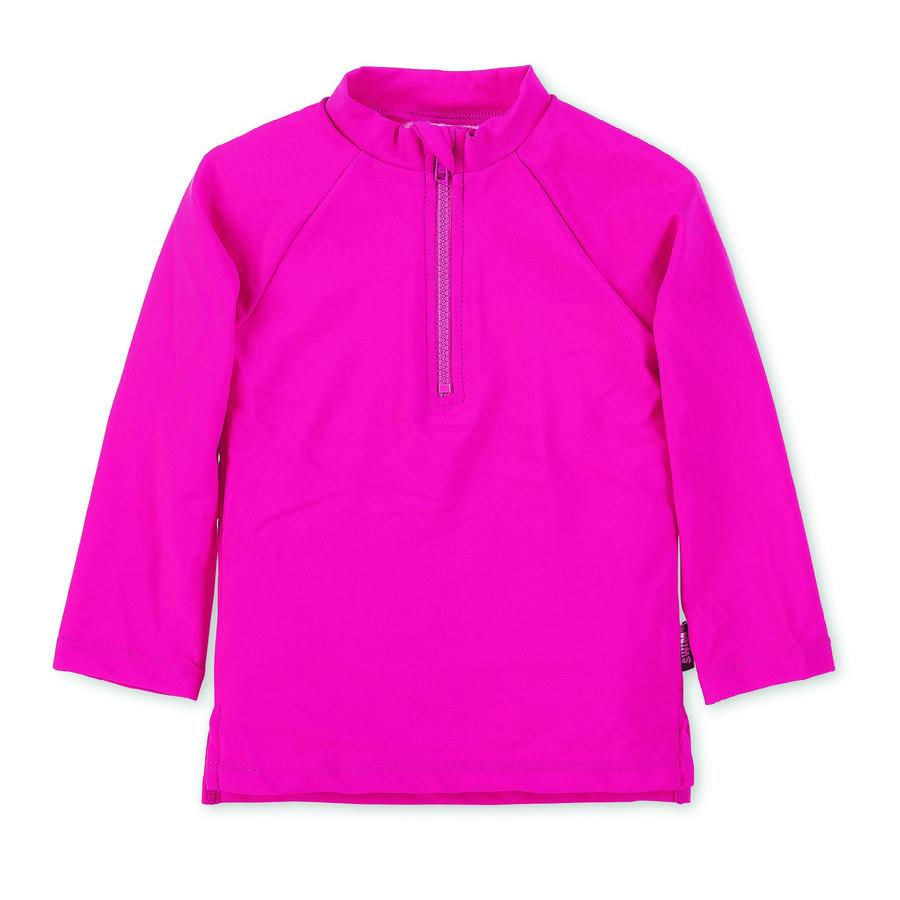 Sterntaler Camisa de baño de manga larga UV magenta
