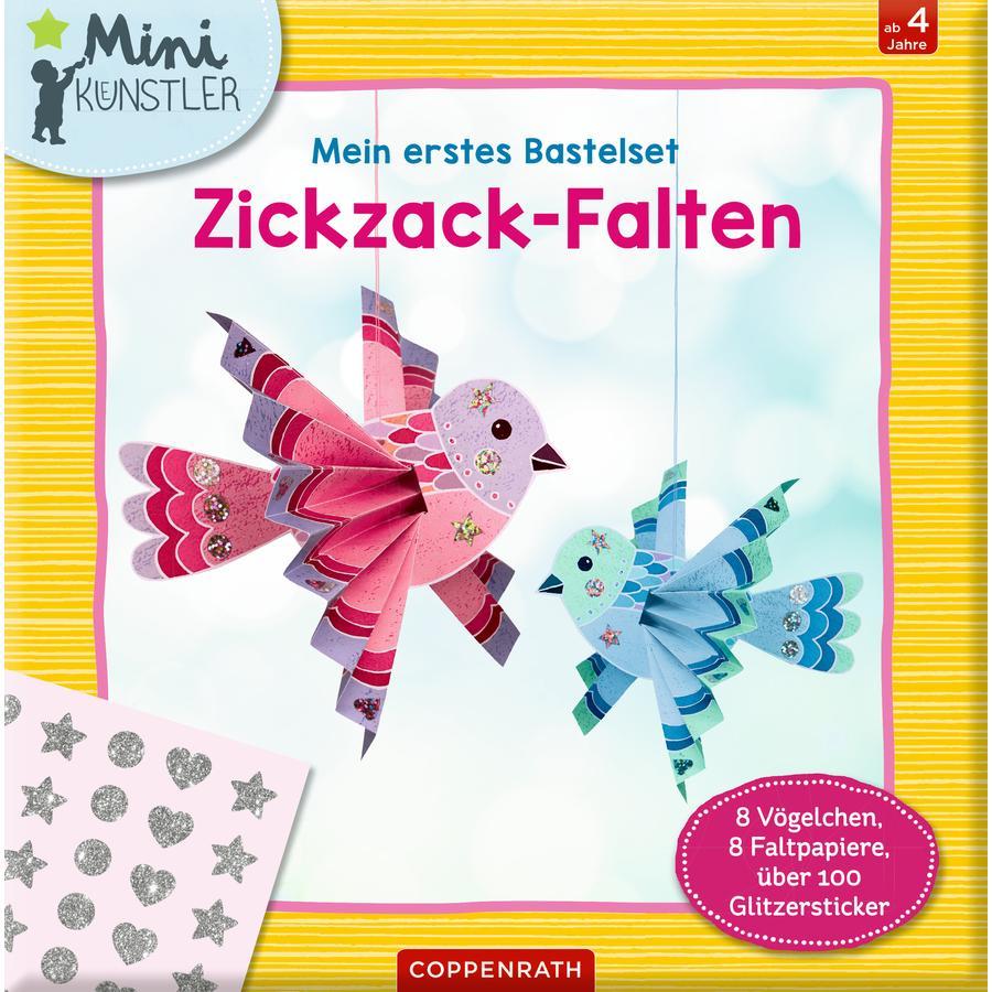 SPIEGELBURG COPPENRATH Mini-Künstler: Mein erstes Bastelset: Zickzack-Falten