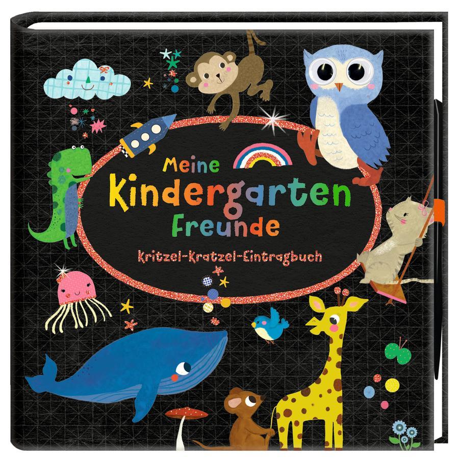 COPPENRATH Meine Kindergartenfreunde: Kritzel-Kratzel-Eintragbuch
