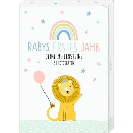 COPPENRATH Fotokarten-Box: Meine kleine Welt - Babys erstes Jahr