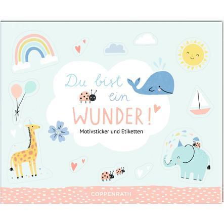 SPIEGELBURG COPPENRATH Stickerbuch - Du bist ein Wunder!