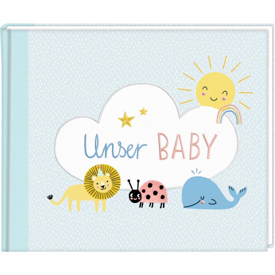 COPPENRATH Eintragalbum: Meine kleine Welt - Unser Baby!