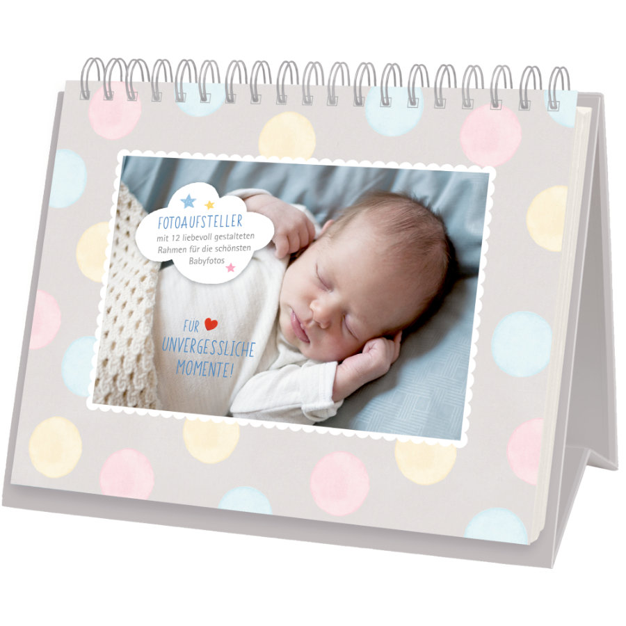 COPPENRATH Kalendarz na biurko: Na niezapomniane chwile - BabyGlück
