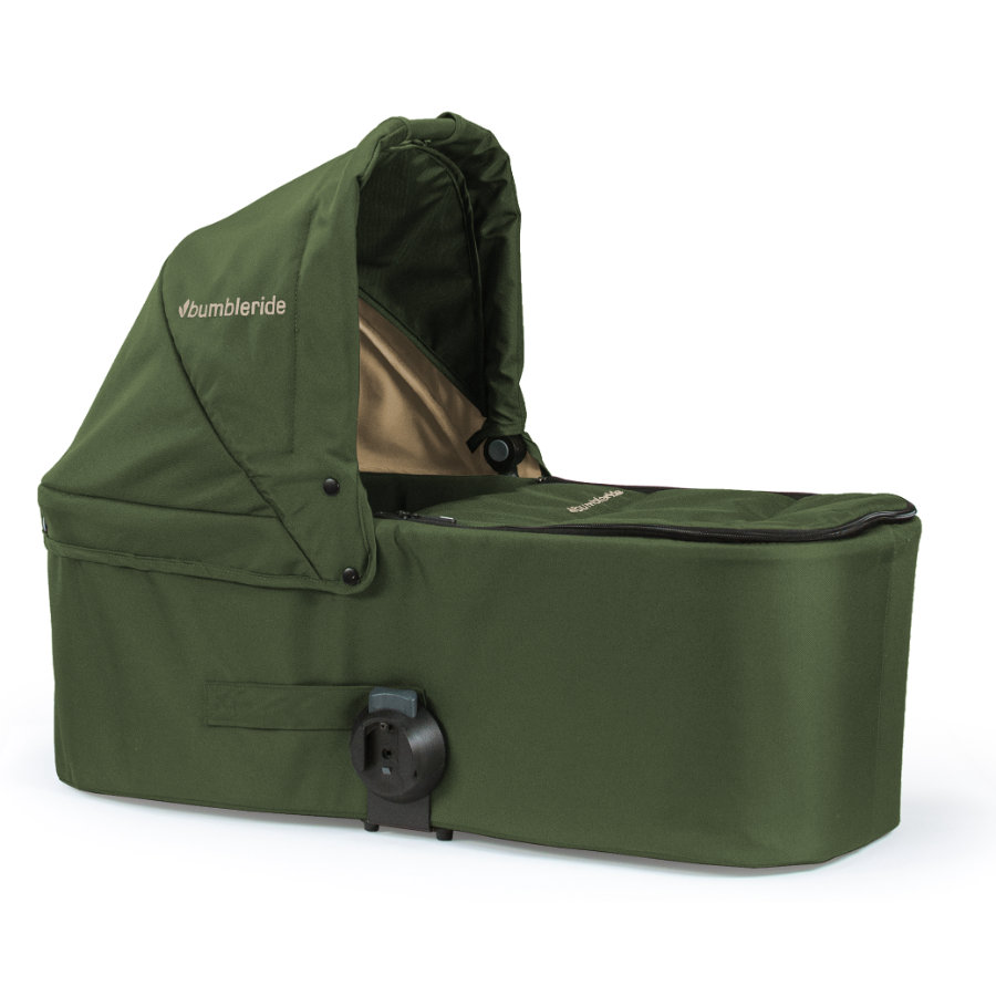 Bumbleride Kinderwagenaufsatz Carrycot Indie Twin Camp Green