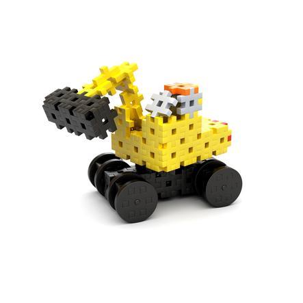 MELI® Jeu de briques enfant Basic Thematic chantier 4en1