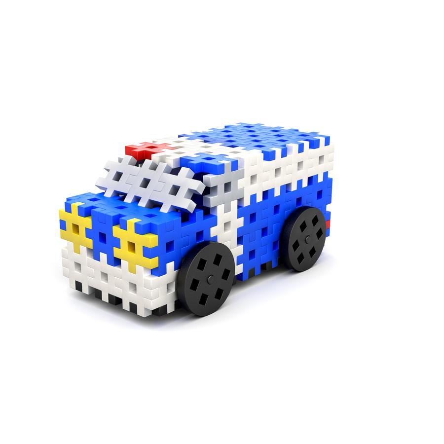 MELI® Jeu de briques enfant Basic Thematic police 4en1