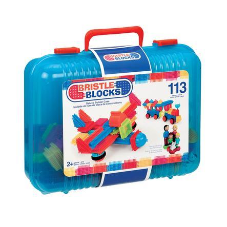 BRISTLE BLOCKS® 113 Teile im Koffer, blau