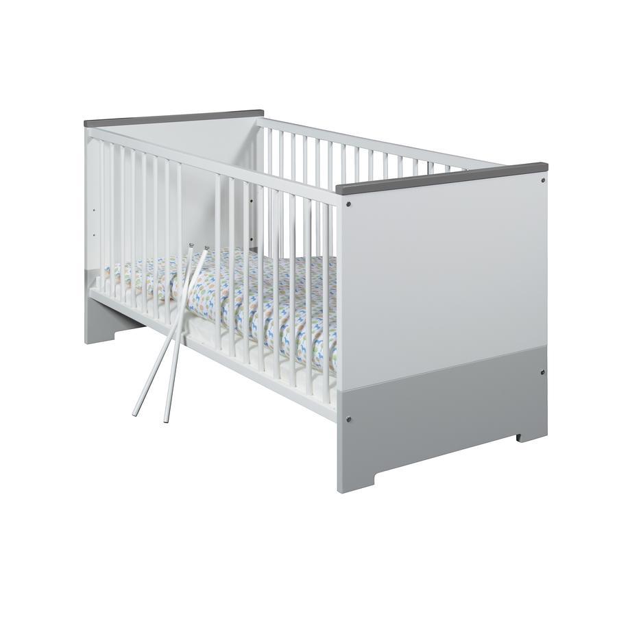 Schardt Kombi-Kinderbett Candy Grey 70 x 140 cm