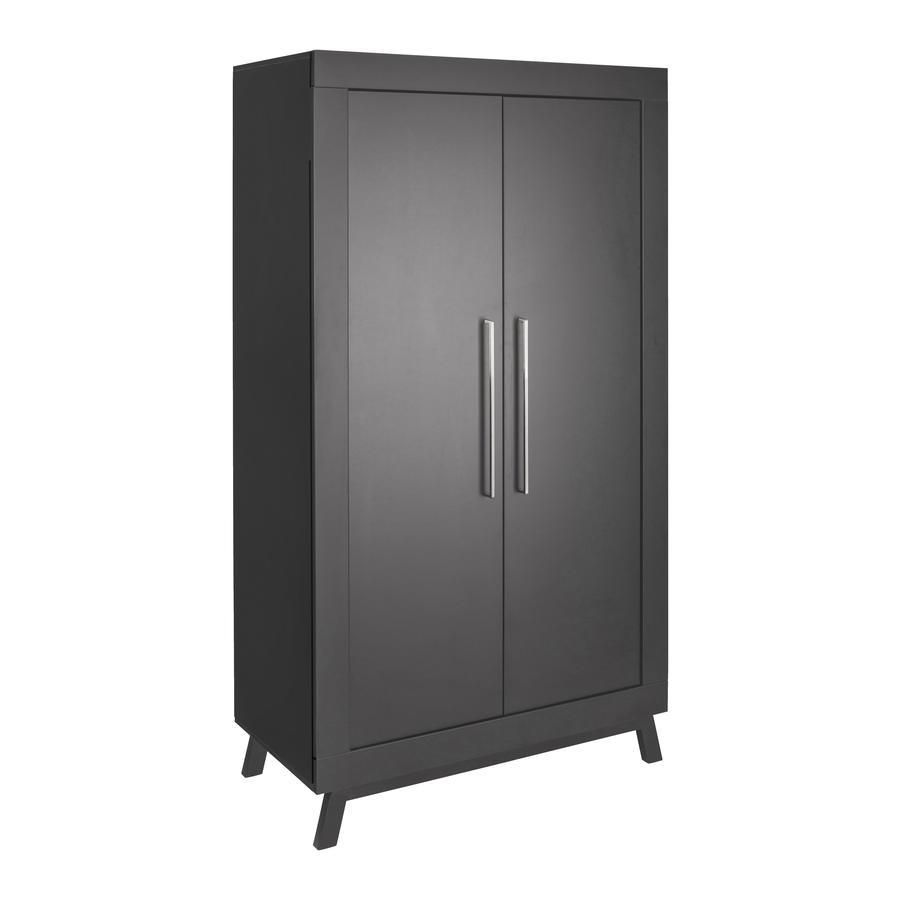 Schardt Wardrobe Miami Black 2-door