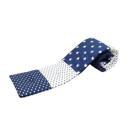 ULLENBOOM® Beistellbett-Nestchen Blaue Sterne 170 x 24 x 4 cm