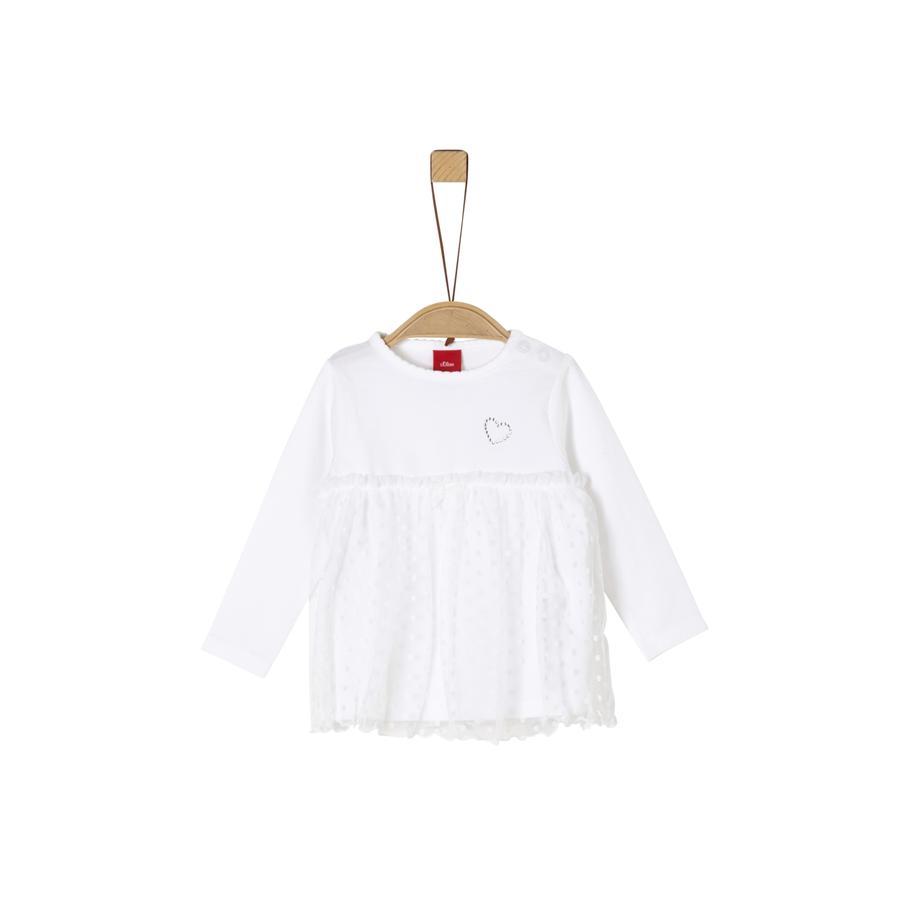 s.Oliver Langermet skjorte hvit