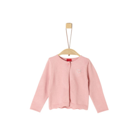 s.Oliver Strickjacke light pink