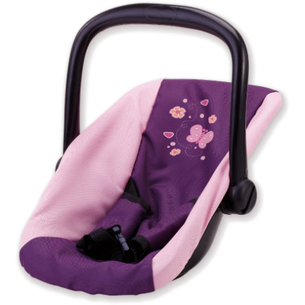 BAYER DESIGN Doll's Car Seat, lilac