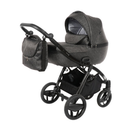 knorr-baby Kombivogn Piquetto Uni Slate