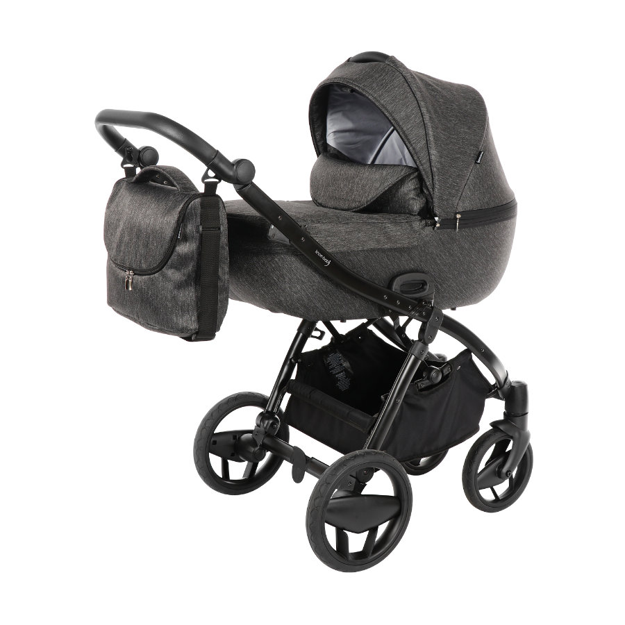 knorr-baby Kombivagn Piquetto Uni skiffer