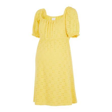mama  legální mateřské šaty MLMOLLY Primrose Yellow