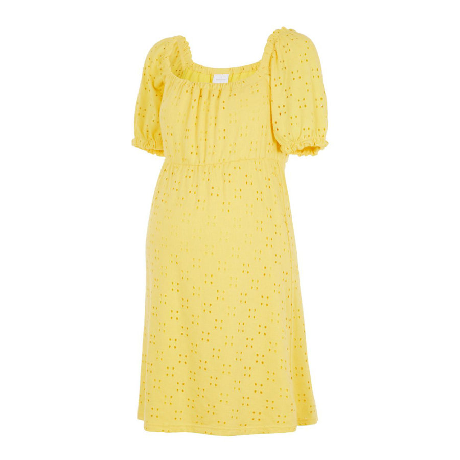 mama;licious Kjole til gravide MLMOLLY Primrose Yellow
