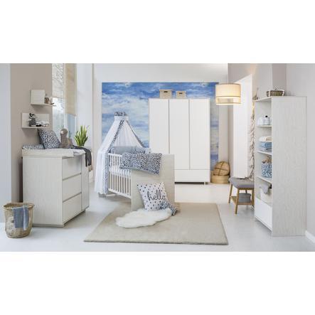 Schardt Kinderzimmer Capri White 3-türig