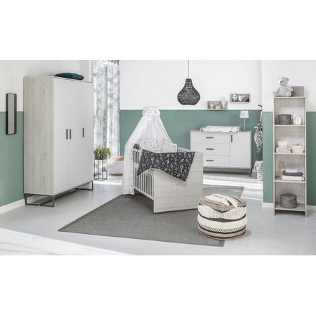 Schardt Kinderkamer Pixie Grey 3-deurs