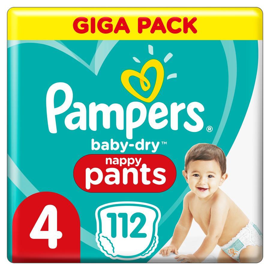 Pampers Baby Dry Pants Gr. 4 Maxi 108 blöjor 9 - 15 kg Giga Pack