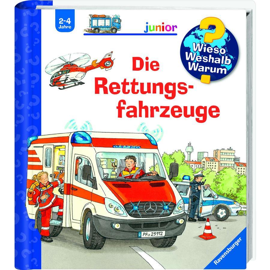 Ravensburger Wieso? Weshalb? Warum? Junior 23: Die Rettungsfahrzeuge