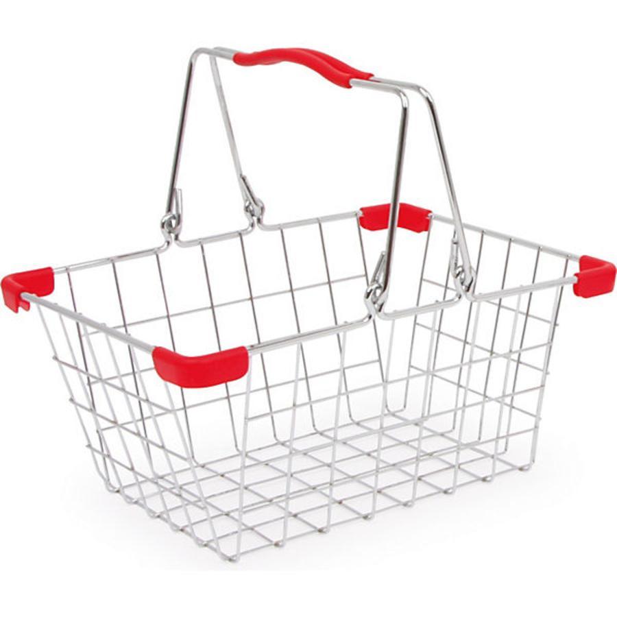 Tanner - Panier de courses enfant vide Le petit marchand métal