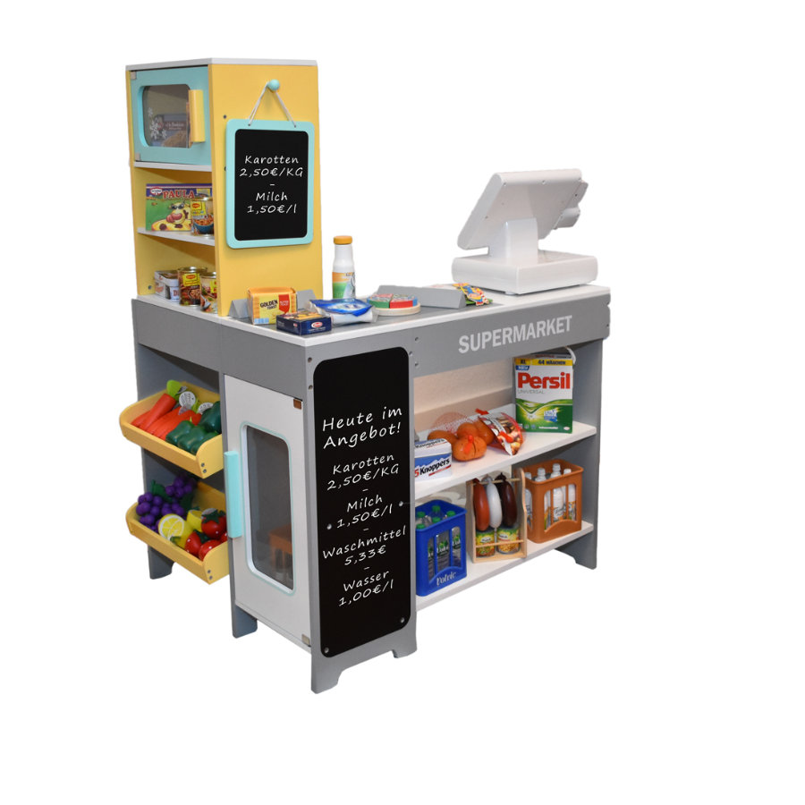 Tanner - Der kleine Kaufmann - Supermarkt aus Holz