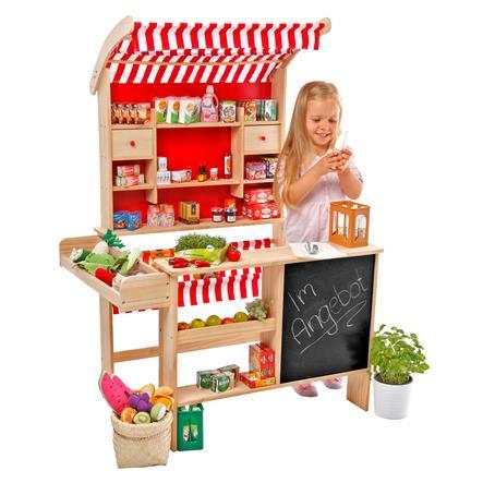 Tanner - De kleine handelaar - grote marktkraam
