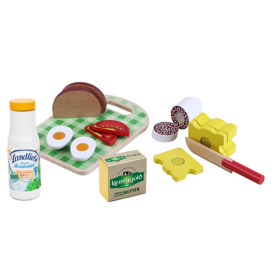 Tanner - Plateau sandwich enfant Le petit marchand bois