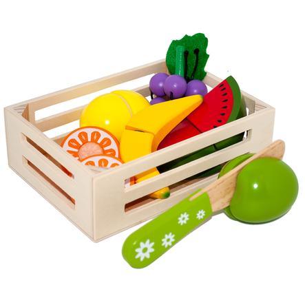Tanner - Le petit commerçant - des fruits dans une boîte en bois