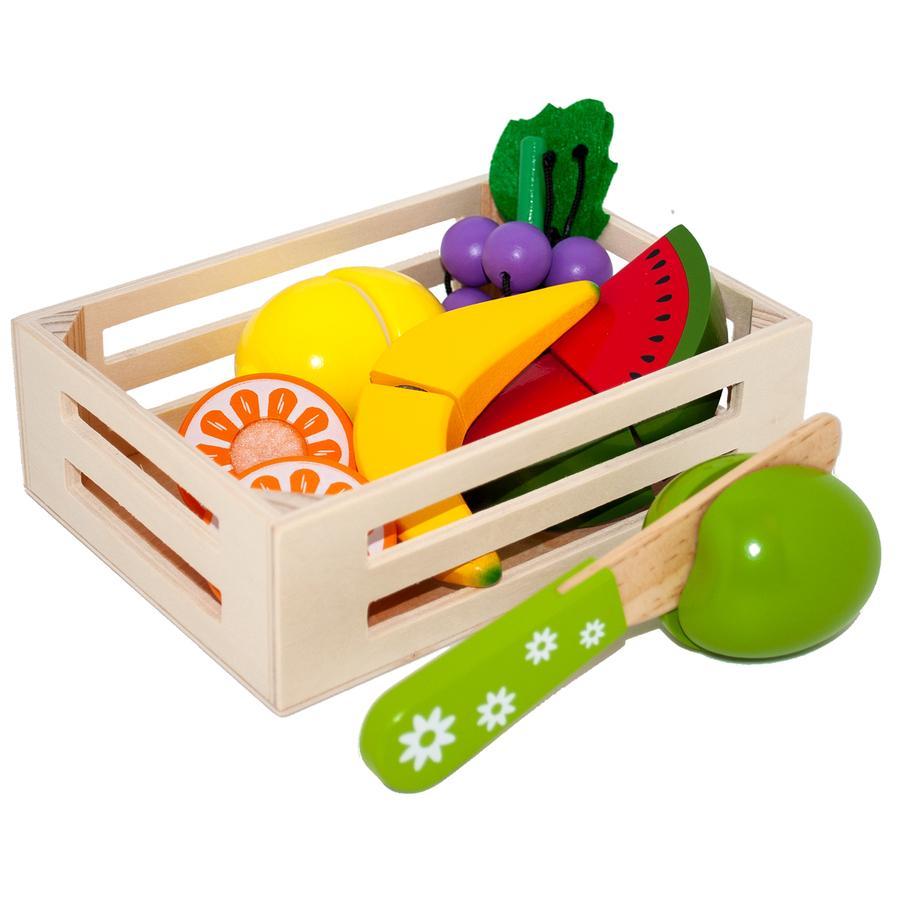 Tanner - Il piccolo mercante - frutta in una scatola di legno