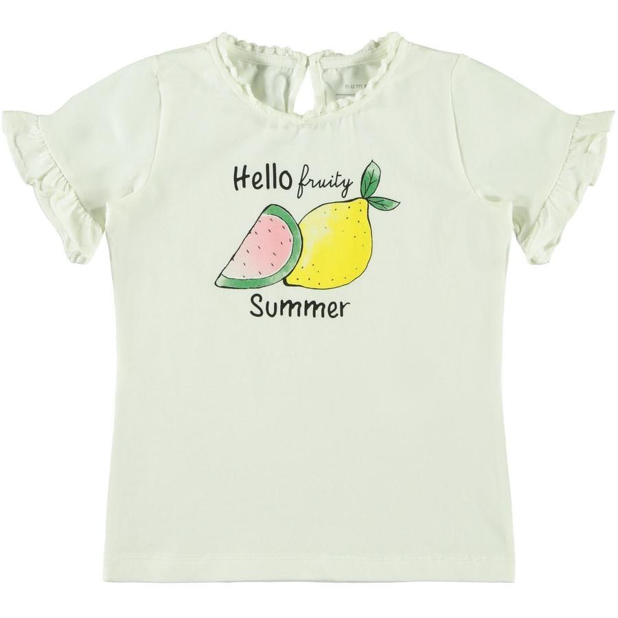 name it Girls T-Shirt Nmmzakcon snow white