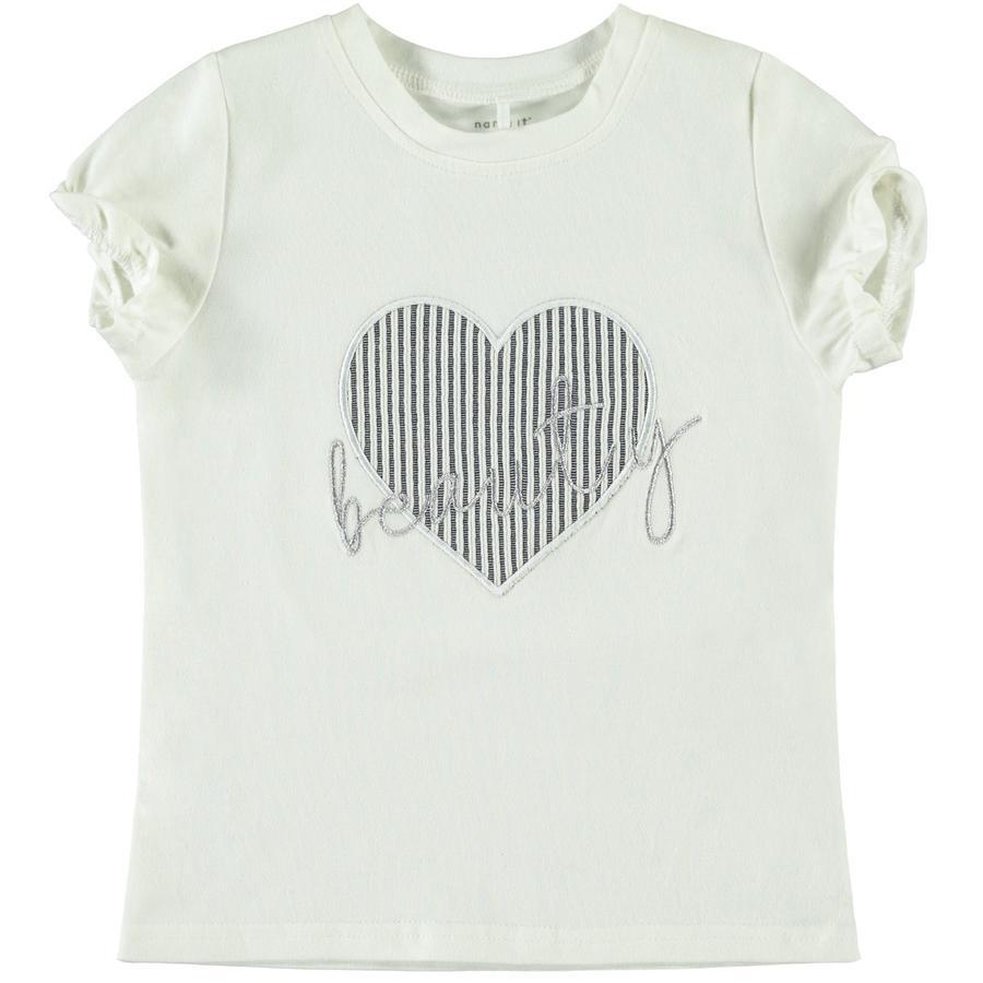 name it T-shirt NMFFASTRIPA Snehvid