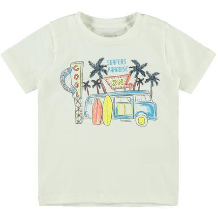 name it T-shirt NMMFACAY neige white