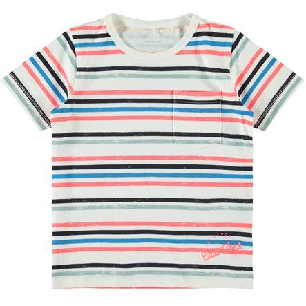 name it Camiseta de niño Nmmfinno neón coral