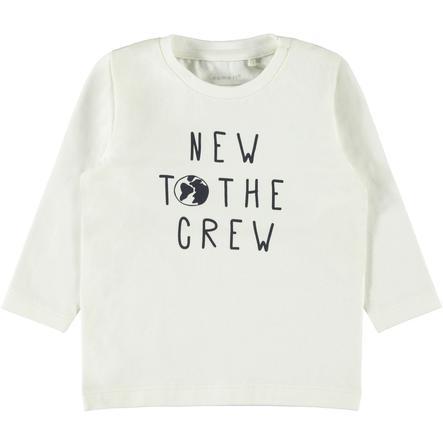 name it Camisa de manga larga NBMFESTA nieve white