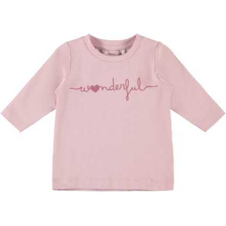 namnge det Långärmad skjorta Nbmffleur rosa nektar