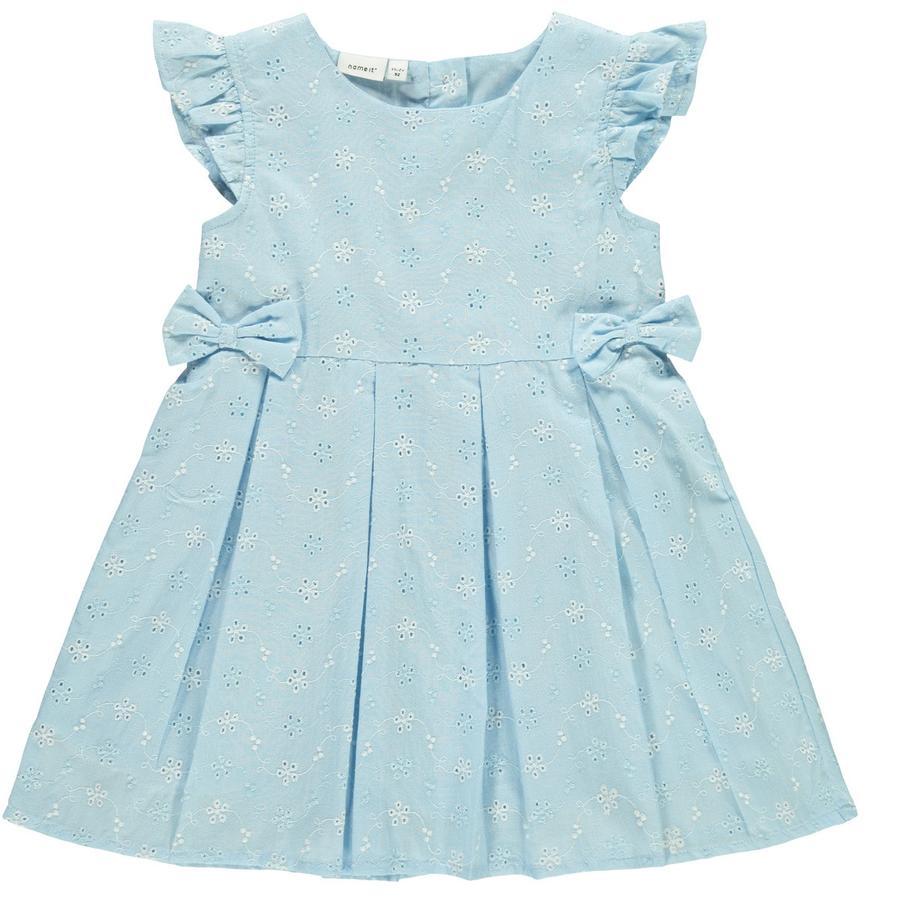 name it šaty Nbffreja spencer dream blue
