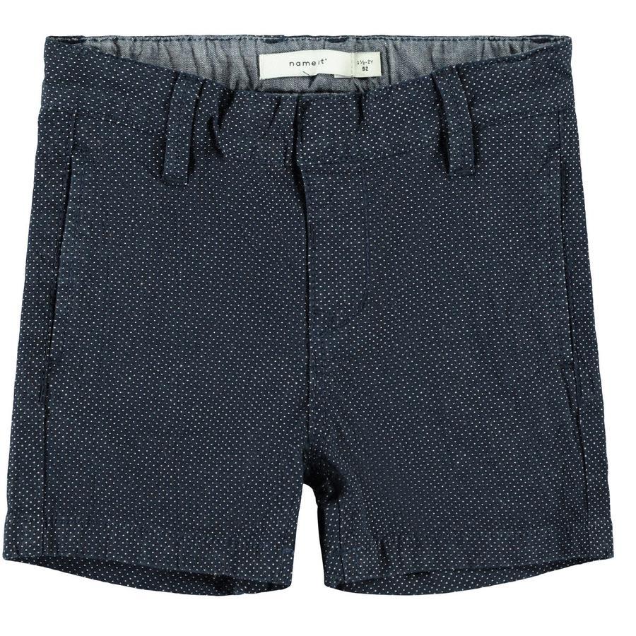 name it Shorts Saphir foncé de Nmmry