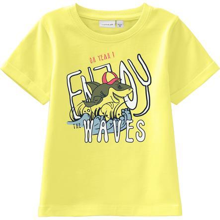 name it T-Shirt pour garçons Nmmvux lime light
