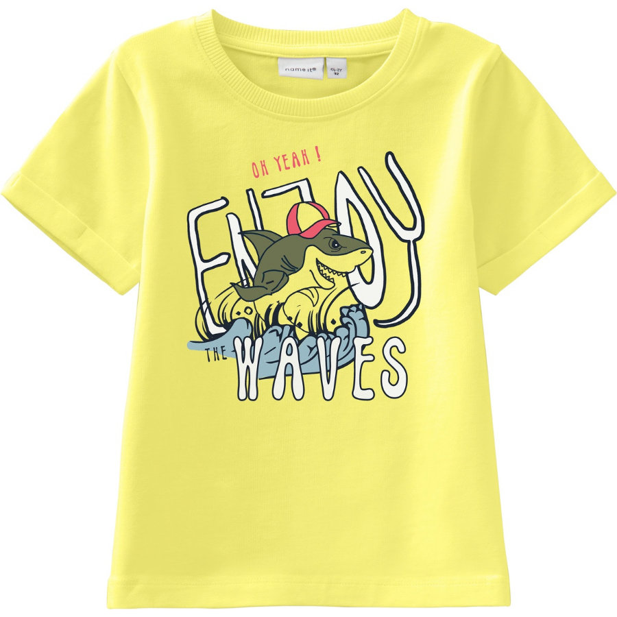 name it Boys T-Shirt Nmmvux limelight