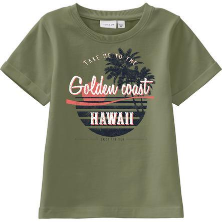 name it Pojkar T-shirt Nmmvux loden grön