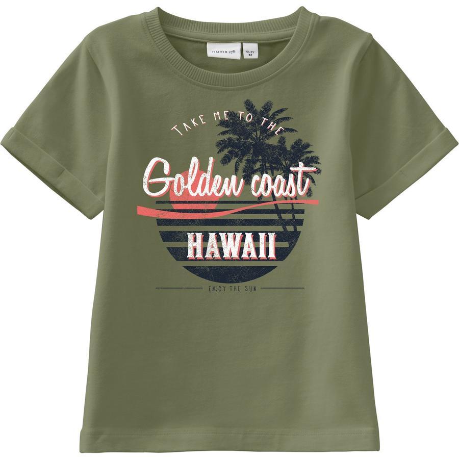 pojmenujte to Boys T-Shirt Nmmvux loden green