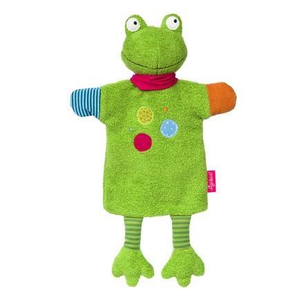 sigikid ® Ręczna lalka plamy Żaba