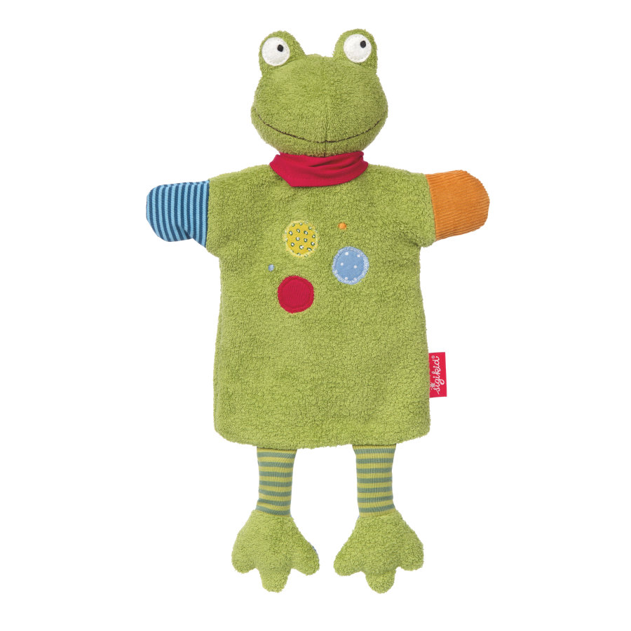 sigikid® Handpuppe Flecken Frog