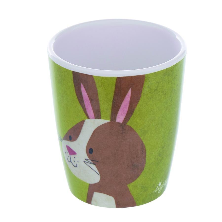 sigikid melaminový pohár králík Forest