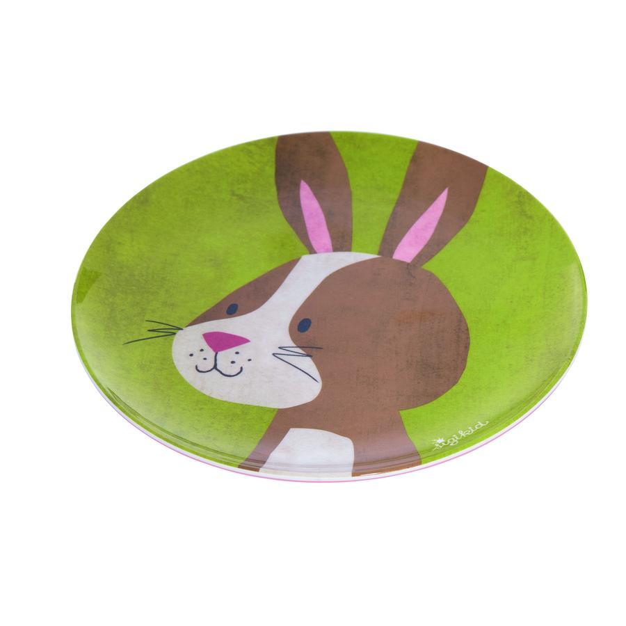 sigikid ® melamin plate kanin skog