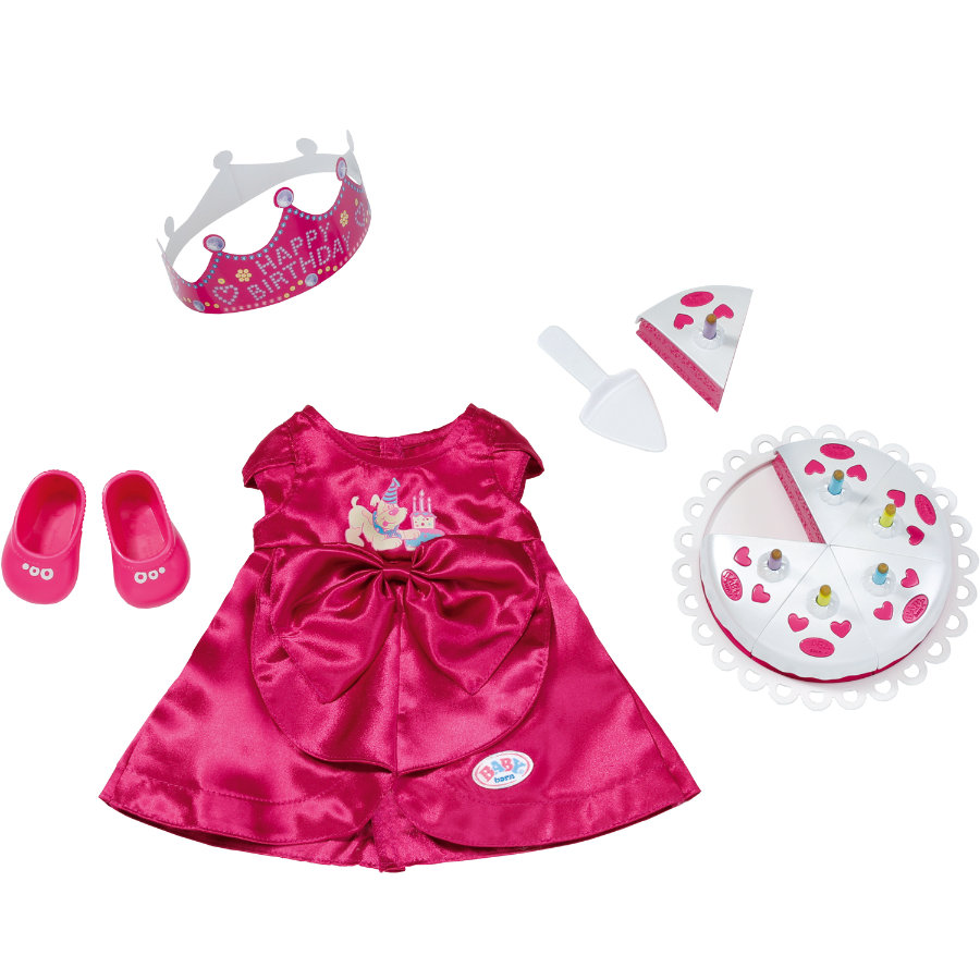 Zapf Creation BABY born - Deluxe Geburtstags-Set