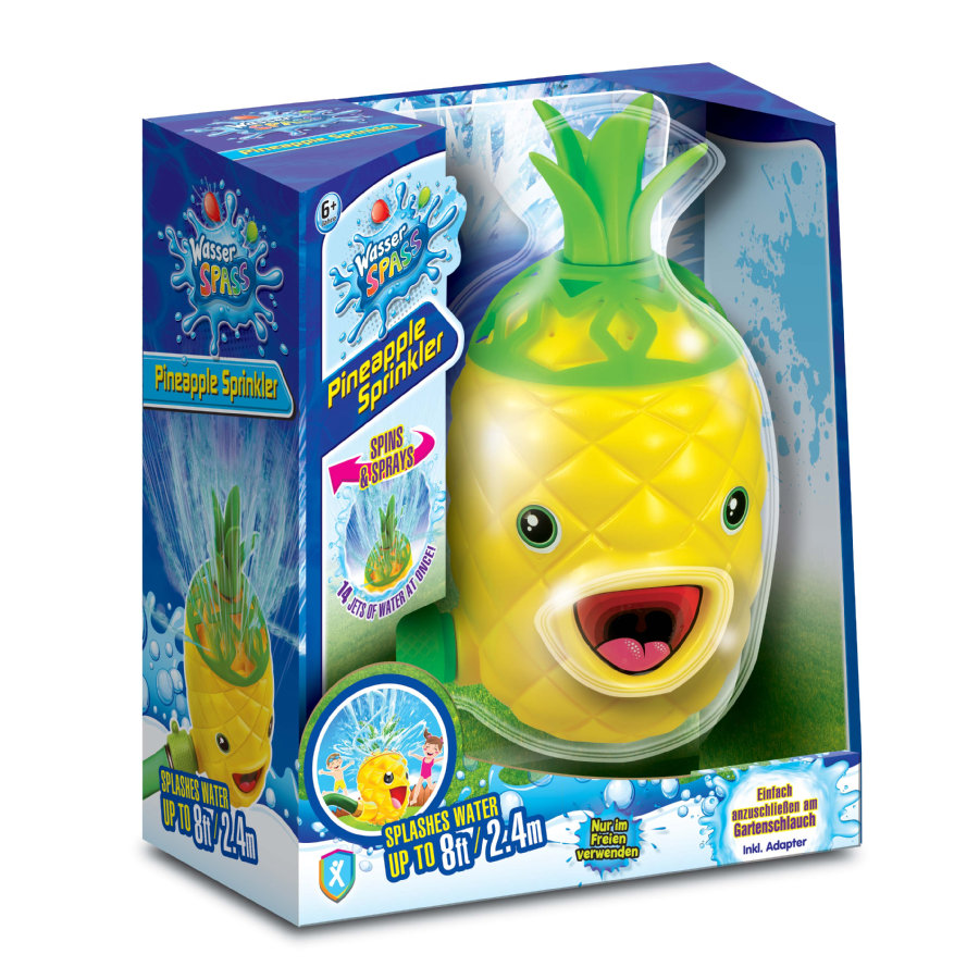 XTREM Toys and Sports - Wasserspaß Ananas Sprinkler
