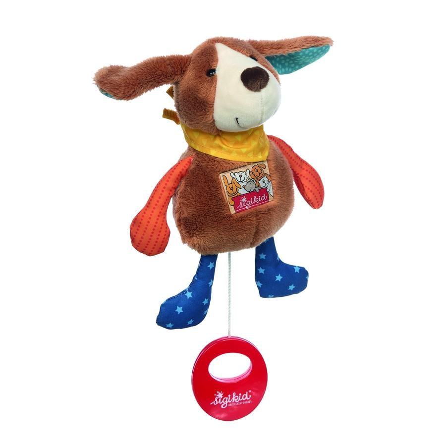 sigikid® Mini-Spieluhr Hund